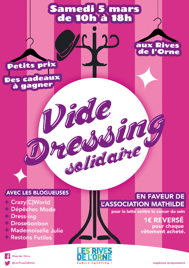 blog et vie un vide dressing solidaire aux rives de l orne caen dress ing blog beaut. Black Bedroom Furniture Sets. Home Design Ideas