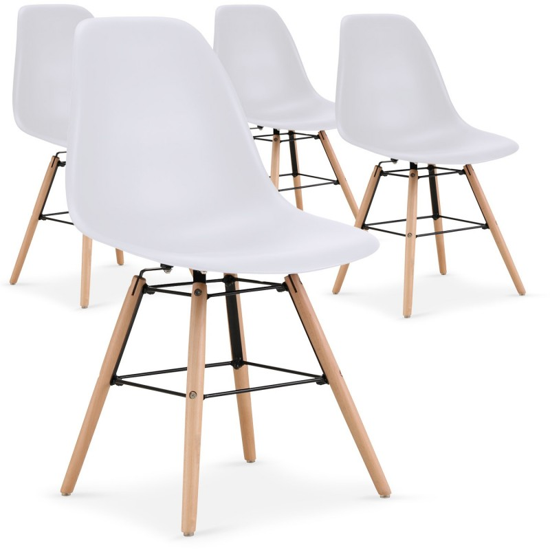 chaises-scandinaves-elies-blanc-lot-de-4